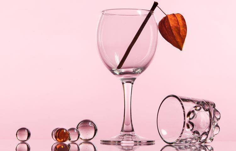 Réussir un entretien et l'allegorie verre d'eau