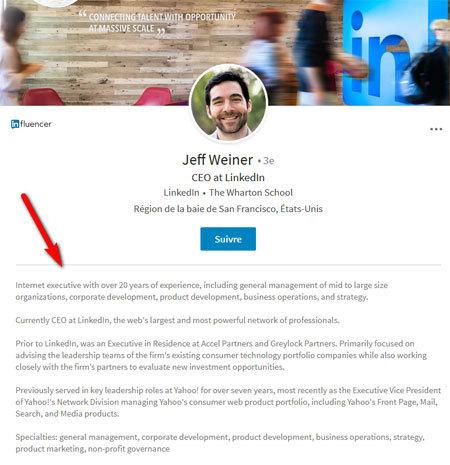 LinkedIn de Jeff Weiner
