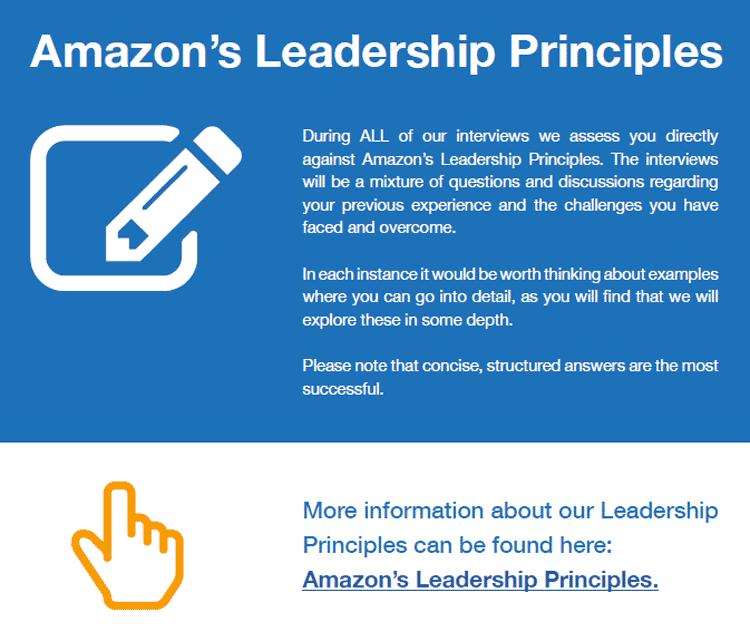 14 principes de leadership Amazon