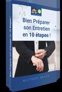 Ebook - Bien préparer son entretien d'embauche